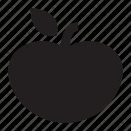 apple, farm, food, fruit, healthy, organic, produce, school, teacher icon