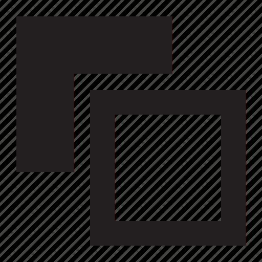 arrange, layers, letter, stack, stroke icon