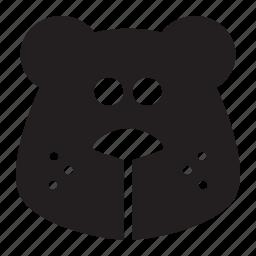 bear, head icon