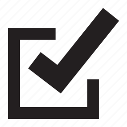 box, check icon