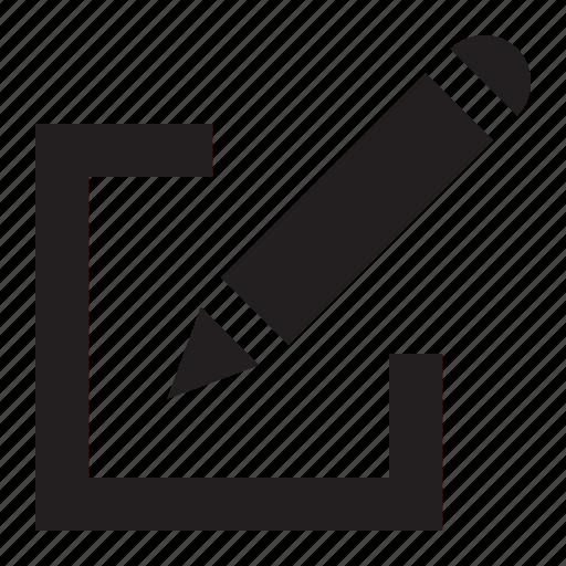 box, edit icon