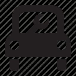 car, mechanic icon