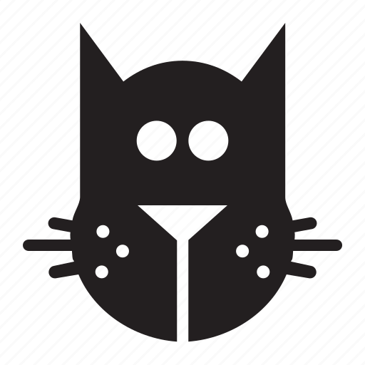 cat, head icon