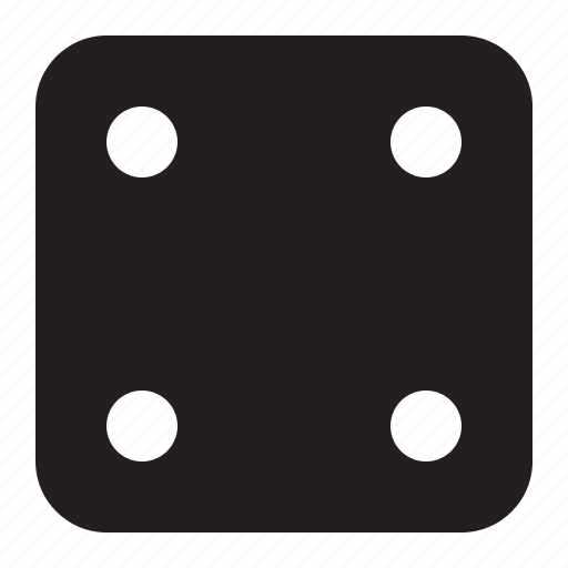 dice, four icon