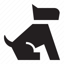 animal, canine, dog, doggy, k-9, nature, pet, puppy, sit icon