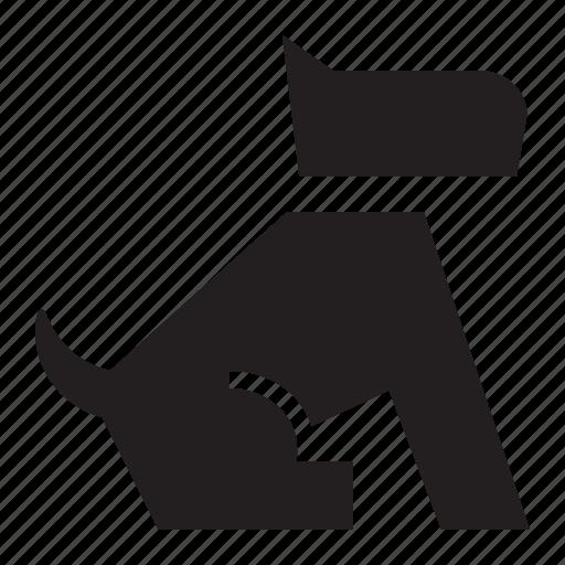 animal, canine, dog, doggy, k-9, nature, pet, puppy, sit icon