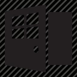 door, open icon