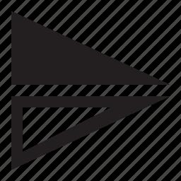 flip, horizontal icon