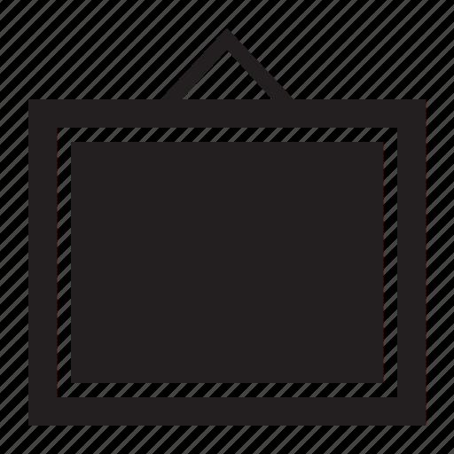 canvas, decoration, empty, frame, plain icon