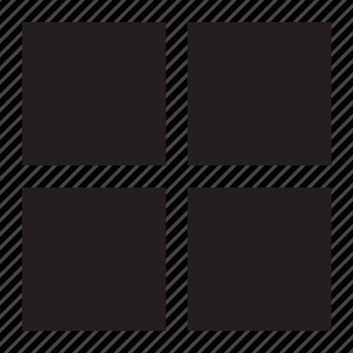block, grid icon