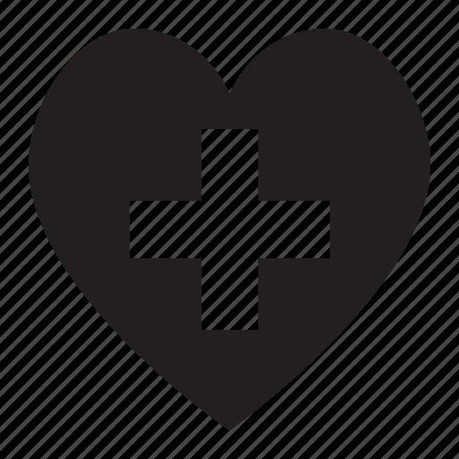 add, heart icon
