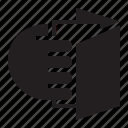 book, insert icon