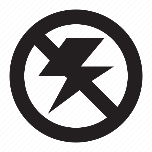 flash, no icon