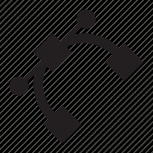 bezier, path icon