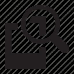 magnify, photo icon