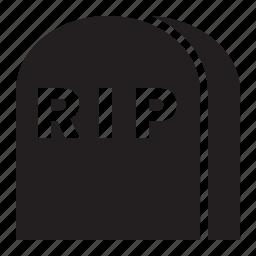 gravestone, rip icon