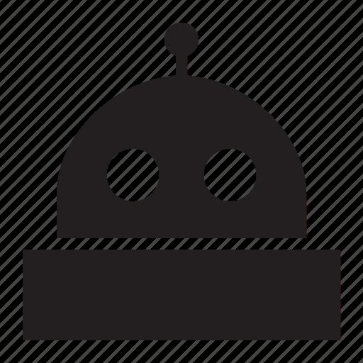 head, robot icon