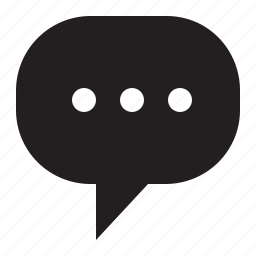 bubble, ellipsis, speech icon