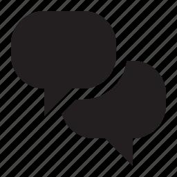 bubbles, speech icon