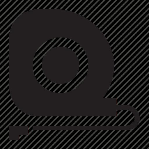 measure, tape icon