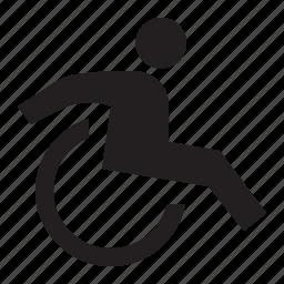 handicap, wheelchair icon