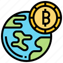 address, bitcoin, connection, currency, worldwide