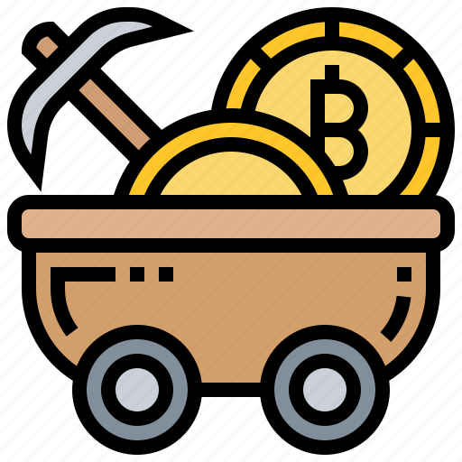Bitcoin, blockchain, currency, digital, mining icon - Download on Iconfinder
