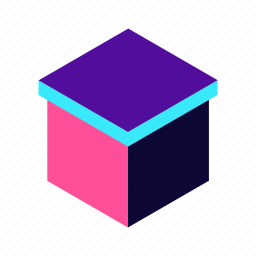 box, commerce, delivery, ecommerce, isometric, logistic, package, service, shipping, shoping, transport, truck icon