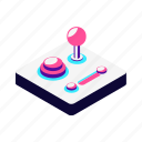 audio, computer, control, controller, device, game, hand, isometric, media, multimedia, music, settings icon