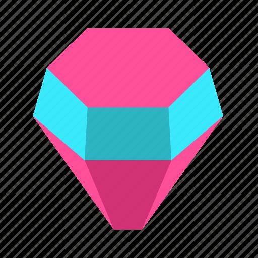crystal, diamond, gem, isometric, jewel, jewelry, opal, ring, stone icon
