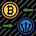 exchange, change, arrow, changes, round, direction