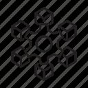 blockchain, block, chain, cube, cog, setting