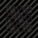blockchain, block, chain, cube, technology, structure