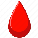 blood, drop, medicine, red icon