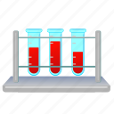 blood, medicine, process, testing, tube icon