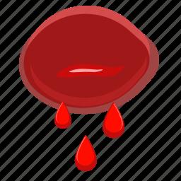 blood, body, medicine, wound icon