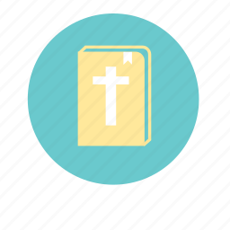bible, blue, officiant, religion, religious, traditional, wedding icon