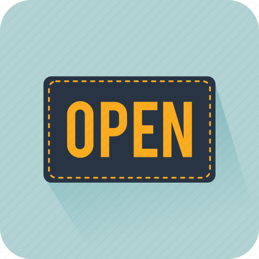 commerce, new store, online store, open, shop, sign, store icon