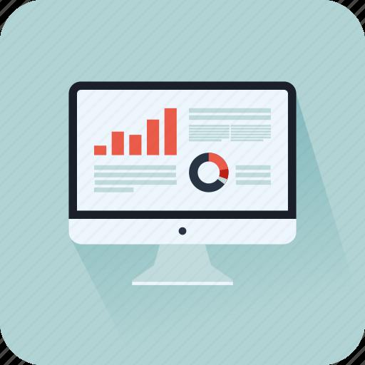 chart, diagram, marketing, pie chart, presentation, scaling icon