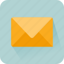 envelope, inbox, mail, message, office, sent email icon