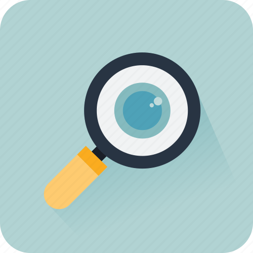 detective, eye, find, magnify, search, searching icon