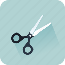 cisors, cut, gift, office, paper, wrapping icon