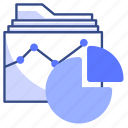 files, document, chart, analyses, data icon