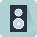 audio, loudspeaker, music, sound, speaker, subwoofer, woofer icon