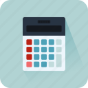 business, calculator, coins, finance, finances, money, profits icon