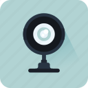 cam, multimedia, video chat, videocall, videocam, webcam icon