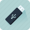computing, data storage, file storage, multimeda, pendrive, technology, usb icon