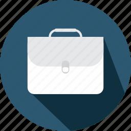 briefcase, business, material, office, portfolio, school icon