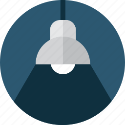 buildings, concept, desk, idea, illumination, lamp, light icon