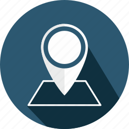 address, contact, gps, location, map, pin, point icon